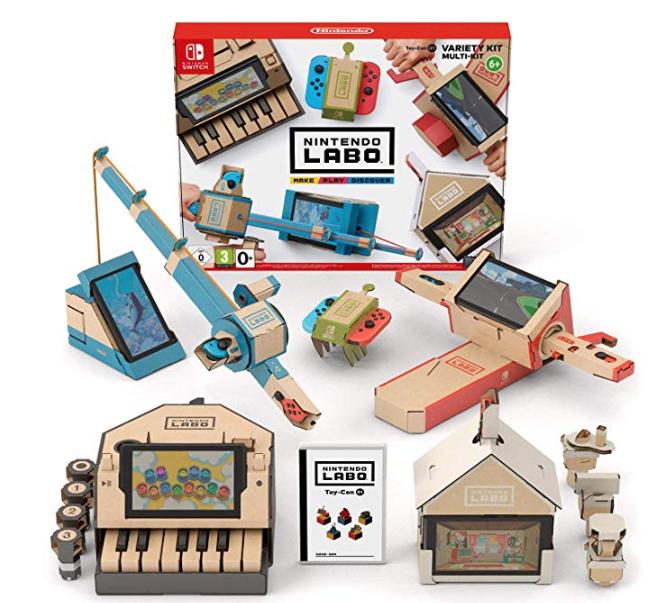 Nintendo Labo Variety Kit £33.45 @ Amazon