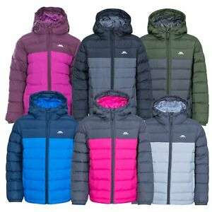 Trespass Oskar Boys Girls Padded School Jacket With Hood For Kids £17 @ trespass Ebay