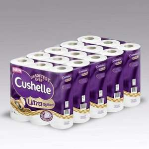 Cushelle Ultra Quilted 5 x 9 pack (45 rolls) for £11.98 @ Costco