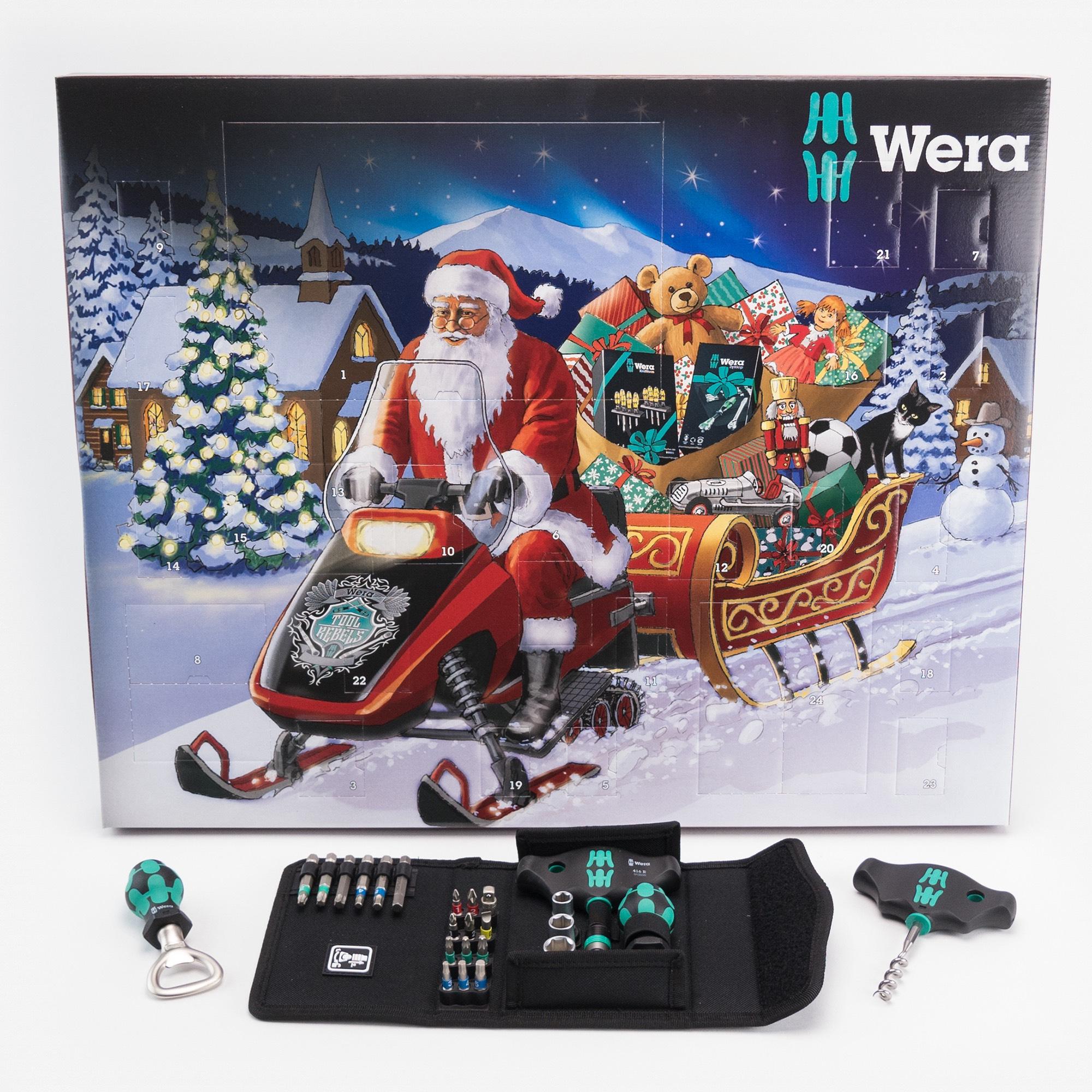 Wera tool advent calendar £39.99 @ Screwfix