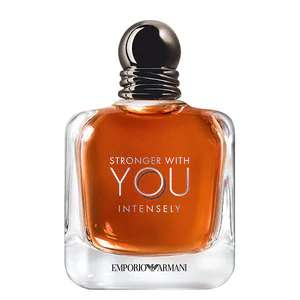Emporio Armani Stronger with You Intensely Eau de Parfum 100ml £60 Delivered @ Superdrug