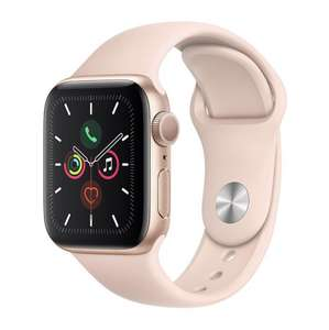 Apple Watch Series 5 (GPS), 40mm Gold Aluminium Case With Pink Sand Sport Band - £399 / £349 with BNPL code @ Very
