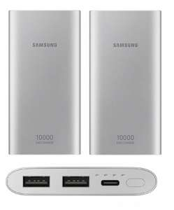 2 X Samsung Original Emergency Power Bank Battery Pack 10Ah (Type C) - Silver/Pink for £26.98 Delivered @ Ebay/Yoltso