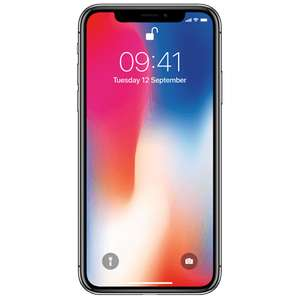 Apple iPhone X 64GB Like New (Space Grey and Silver) - £399 @ O2