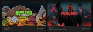 Nuclear Throne & Ruiner (PC Games) Free @ Epic Games