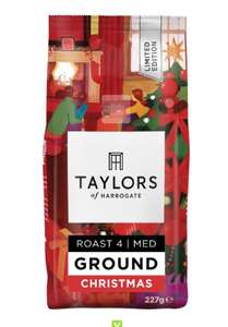 Taylor's Coffee - Christmas blend in store deal 30p at Asda Merthyr Tydfi
