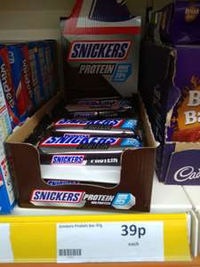 Snickers Protein Bars 39p at Heron Foods in Barrow-in-Furness