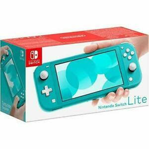 REFURBISHED - Nintendo Switch Lite Handheld Console in Yellow or Turquoise £161.49 at stockmustgo eBay