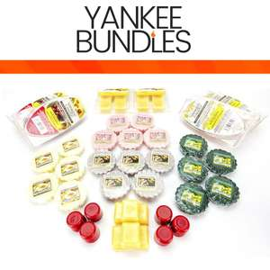 Ultimate Yankee Candle 56 Piece Christmas Wax Melts & Cubes Set - £20 Delivered / £19 For New Accounts With Code @ Yankee Bundles