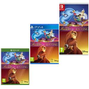 Disney Classic Games: Aladdin & The Lion King(Xbox One/PS4/Nintendo Switch) - £24.85 delivered @ Base