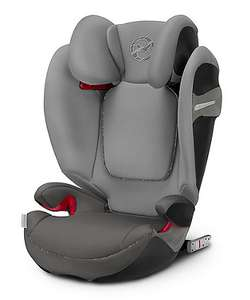Cybex solution gold s-fix highback booster car seat - manhatten grey £100 delivered (rrp £160) @ Mothercare