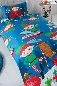 Christmas duvet set with free personalisation option, other designs available for £7.99 + p&p £4.99 @ Studio