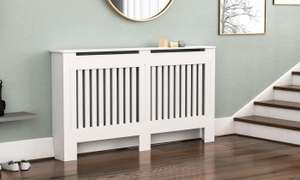 Radiator Covers 8n Choice of Size Model and Finish - £27.18 @ Groupon