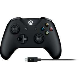 Xbox Wireless Controller and Cable for Windows £38.24 (Black) at Microsoft Store
