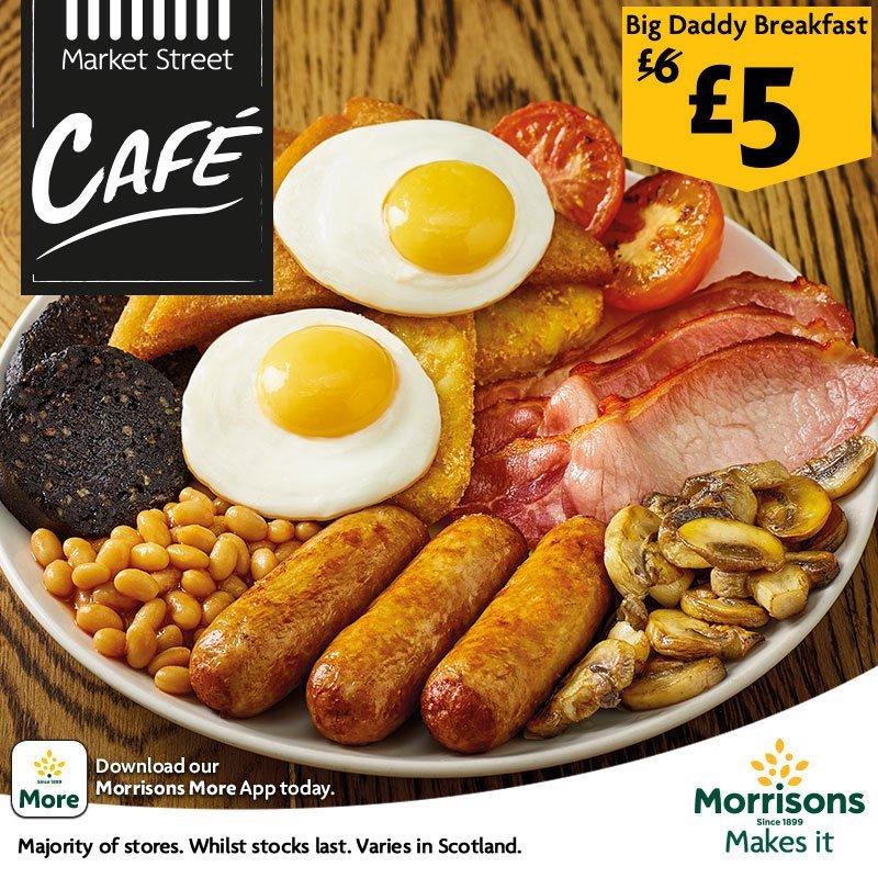 Morrisons Big Daddy Breakfast £5 @ Morrisons
