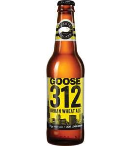 Goose Island 312 Urban Wheat Ale 355ml bottles 99p at Home Bargains West Yorkshire