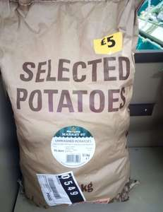 12.5kg Potatoes £5 at Morrisons in-store Harrow On The Hill