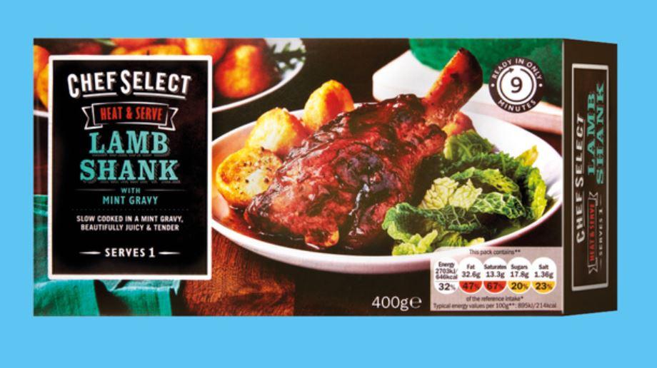 Chef Select Lamb Shank 1 400g - £2.69 at Lidl