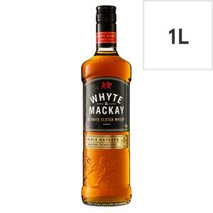 Whyte & Mackay Scotch Whisky 1L £16 @ Tesco (70cl for £12)