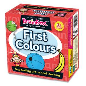 Brainbox First Colours / First Animals Learning Games 99 @ Aldi (Rustington)