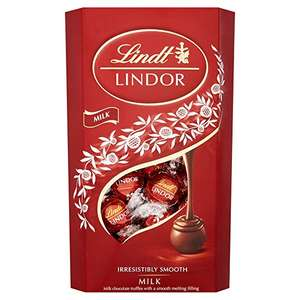 3 For £10 (£3.33 Each) All Varieties of Lindt Lindor Chocolates @ WHSmith
