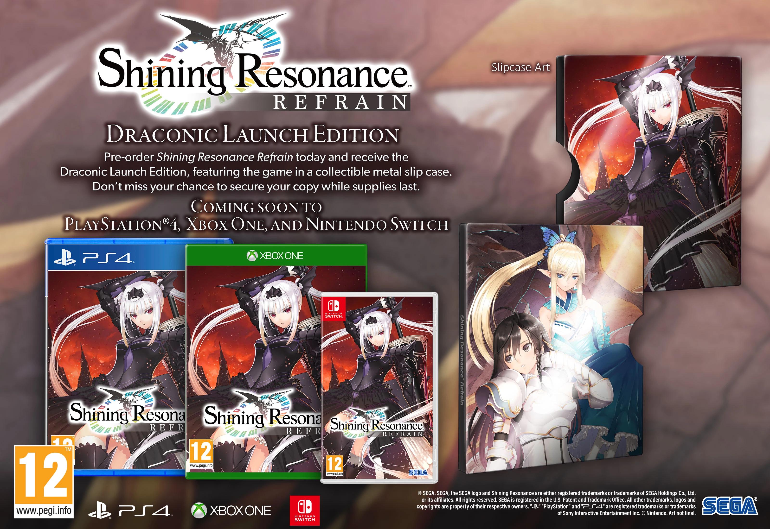 Shining Resonance Refrain: Draconic Launch Edition (PS4) £17.85 @ Base.com