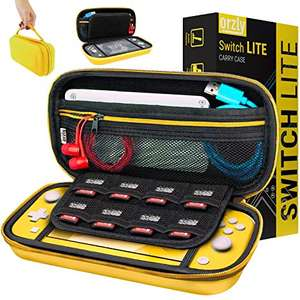 Orzly grip case £6.91 / Carry case £7.64 / Screen protector pack £6.99 for nintendo switch lite Sold by Orzly / FBA (+£4.49 Non-prime)
