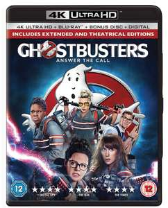 Ghostbusters (4K Ultra HD + Blu-ray + Digital HD) £7.19 / The Dark Tower 4k UHD £8.99 Delivered @ Zoom