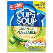 Bachelors Cup-a-Soup 5 packs x 4 for £3 @ Tesco