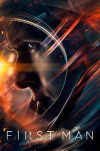 First Man iTunes £4.99, 4K Dolby Vision, Dolby Atmos