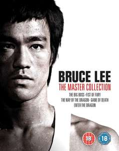 Bruce Lee: The Master Collection Blu Ray box set £24.60 @ Amazon