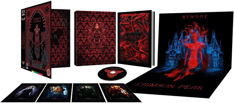 Crimson Peak Limited Edition [Blu-ray] ARROW VIDEO @ Amazon £16.24 with Prime (£19.23 Non Prime)