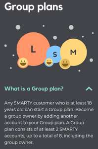 SMARTY - Group plans now available - save 15%.
