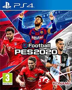 Pes 2020 Standard Edition £23.99/ Legend Edition £29.99 (PS4) PS Plus Members @ Playstation Store