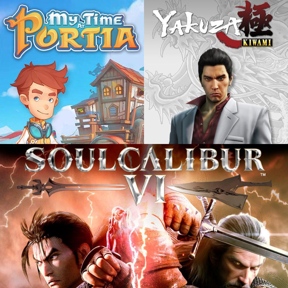 [PC] Soul Calibur VI / Yakuza Kiwami and My Time at Portia - ~£9.73 - Humble Monthly