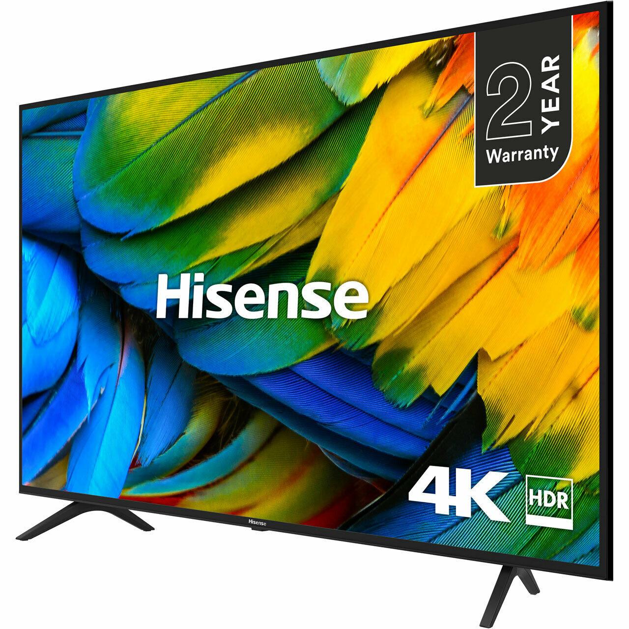 H43B7100UK B7100 43 Inch TV Smart 4K Ultra HD LED Freeview HD 3 HDMI £224.10 with code @ AO ebay