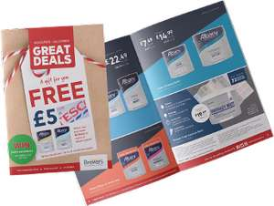 Free £5 Tesco giftcard when you purchase 10L or more Albany paint @ Brewers