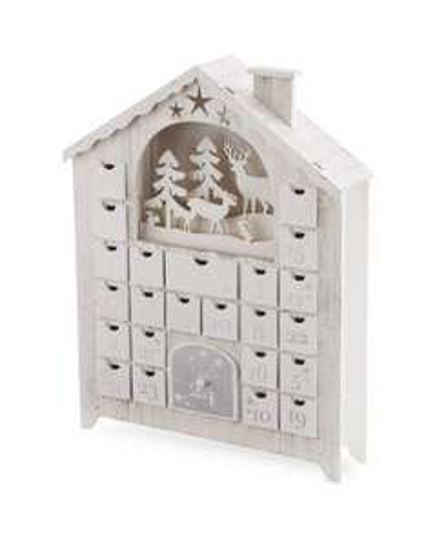 Wooden Advent Calendar Winter Scene - £9.99 instore only @ ALDI