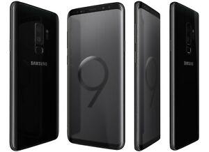 Samsung Galaxy S9+ / Plus (SM-G965F/DS) Midnight Black Unlocked Dual SIM 64GB Retail Box at eBay it-zone-1 (ITZOO) - minor use/seller refurb