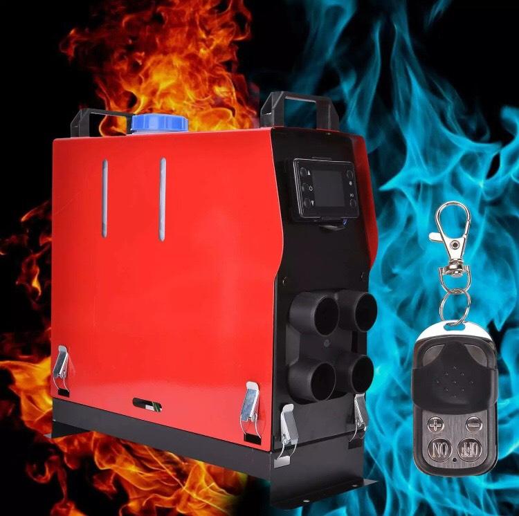 Car 12V 5000W Air Diesel Heater 4 Holes LCD Monitor PLANAR For Trucks Boats Bus - £99.99 @ honest8face eBay