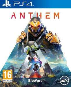 Anthem ps4 and Xbox one Tesco (Beverley) - £10