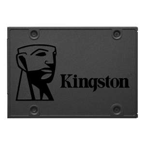 Kingston Technology A400 SSD 480GB Serial ATA III 480GB — up to 500MB/s Read and 450MB/s Write for £42.98 Delivered @ Amazon UK