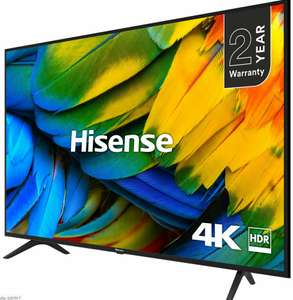 Hisense H65B7100UK B7100 65 Inch TV Smart 4K Ultra HD LED Freeview HD 3 HDMI + 2 Year Warranty - £479 with code @ AO eBay