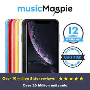 Apple iPhone XR - 64GB - Unlocked - Very Good condition @ eBay musicMagpie - £449