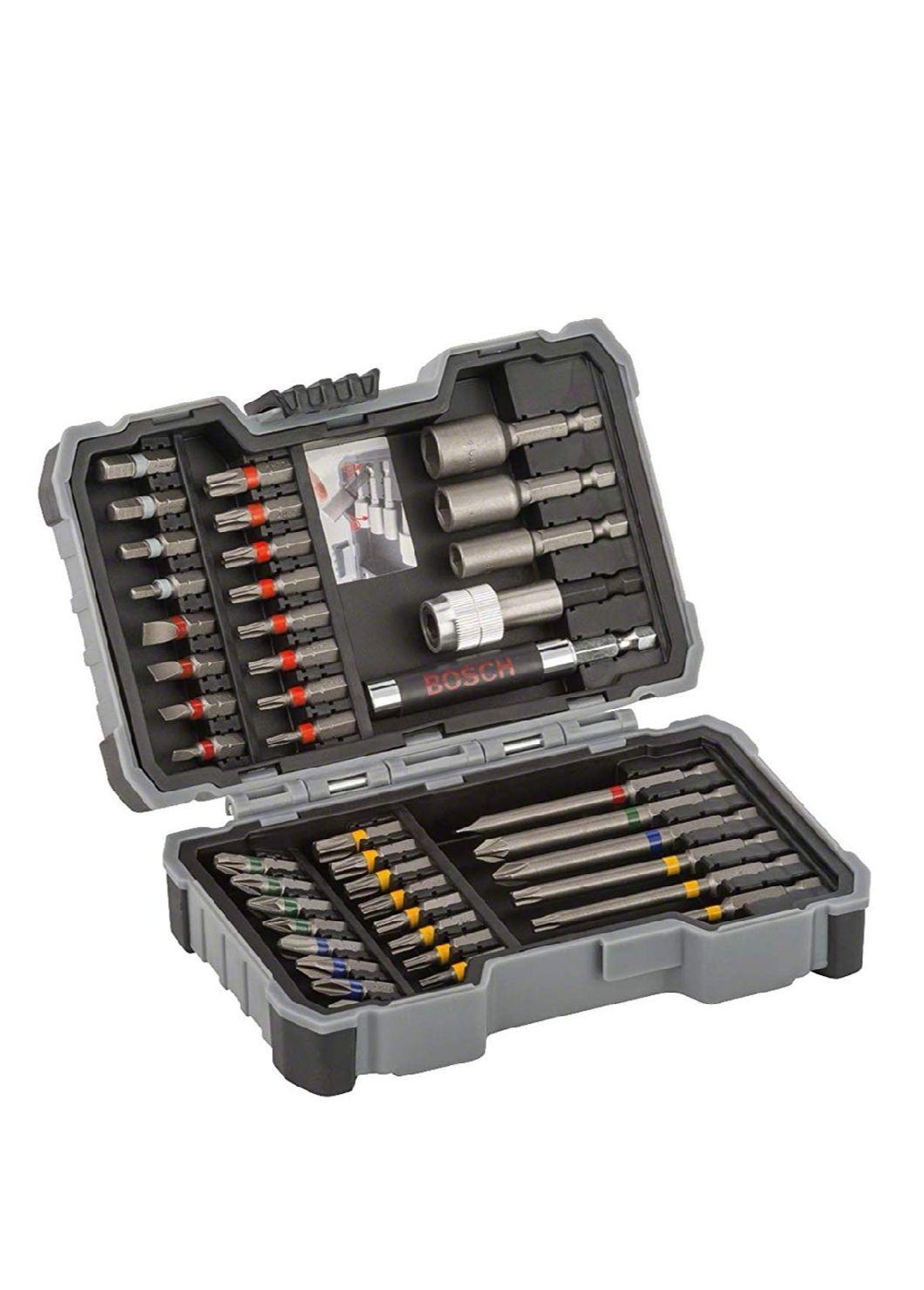 Bosch Professional 2607017164 43-Piece bit and nutsetter Set, Tools - £12.99 (Prime) £17.48 (Non Prime) @ Amazon