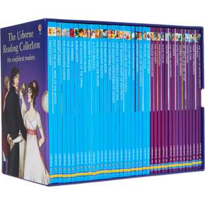 USBORNE The Reading Collection For Confident Readers (40 books) £14.99 at TK Maxx