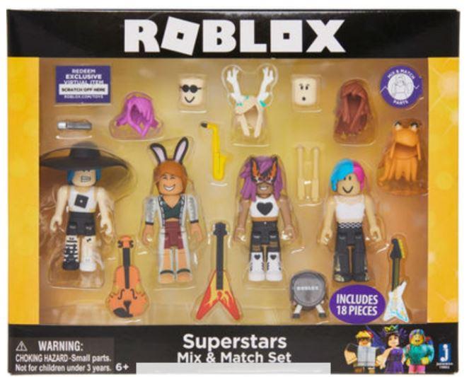 Roblox JAZWARES Superstars Celeb Mix & Match Set £7.99 @ TKMaxx