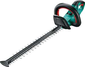 Bosch 18V Cordless Hedge Trimmer AHS 50-20. Good length blade for a nice square and trimmed hedge using 18v battery system - £66.99 @ Amazon