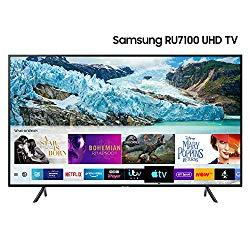 Samsung 50-Inch Ru7100 HDR Smart 4K TV [Energy Class A] - £399 @ Amazon