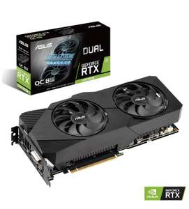 ASUS GeForce RTX 2060 SUPER 8GB Dual Evo Boost Graphics Card £377.98 at cclcomputers eBay